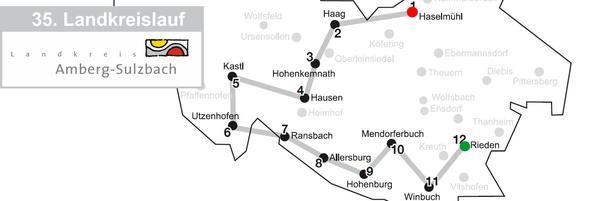 Externer Link: Landkreislauf 2019 | Streckenverlauf