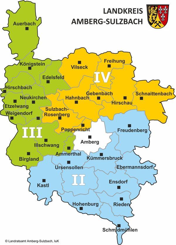 Kreisbrandinspektionen im Landkreis Amberg-Sulzbach