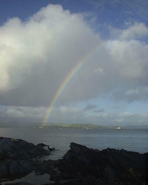 Partnerschaften Argyll & Bute | Regenbogen bei Dunoon