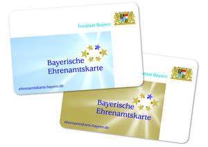 Die Bayerischen Ehrenamtskarten