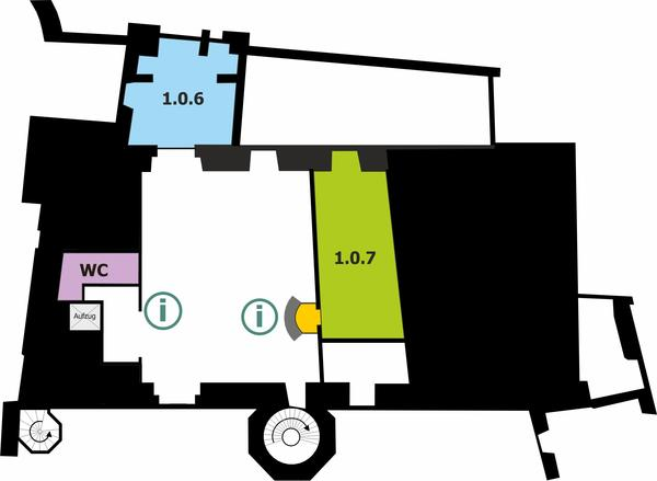 Kurfürstliches Schloss - Erdgeschoss