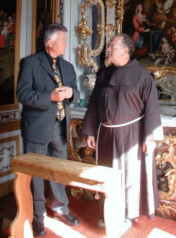 Partnerschaft mit Kloster fortsetzen