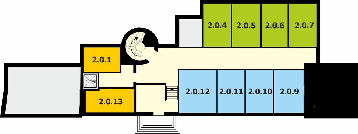 Gebäude 2 | Rentamt - Erdgeschoss