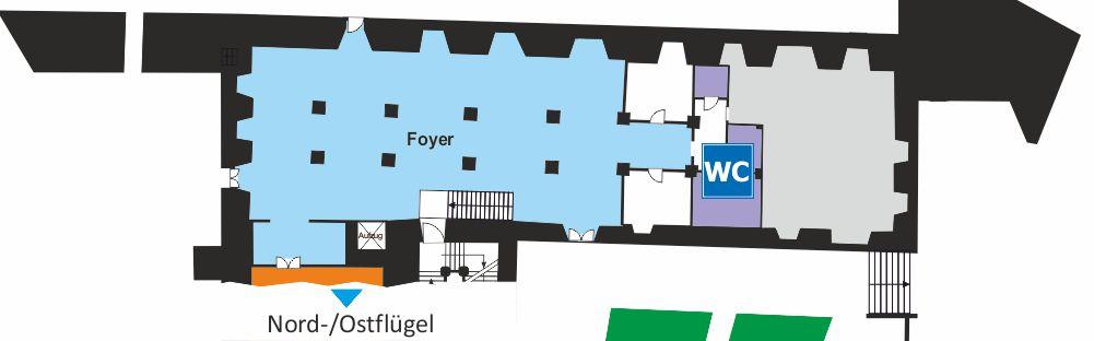 Zeughaus (Südflügel) - Erdgeschoss